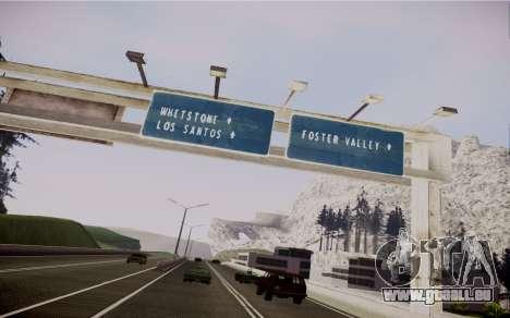 Fourth Road Mod pour GTA San Andreas sixième écran