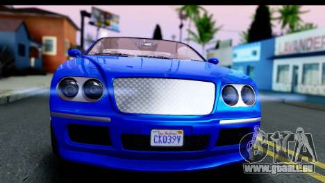 GTA 5 Enus Cognoscenti Cabrio für GTA San Andreas