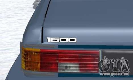 Peykan Separ Joshan 1600 für GTA San Andreas Seitenansicht