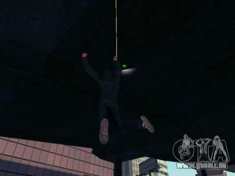 Spiderman Swinging v2.1 für GTA San Andreas her Screenshot