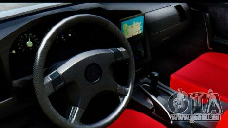 Opel Combo Delta Garage für GTA San Andreas Rückansicht