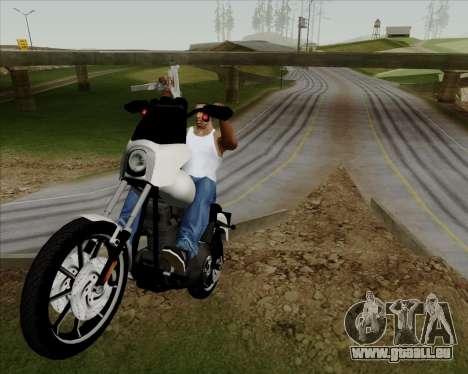 Harley-Davidson FXD Super Glide T-Sport 1999 für GTA San Andreas Innenansicht