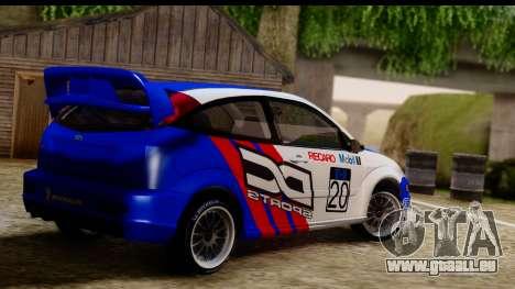 Ford Focus für GTA San Andreas linke Ansicht