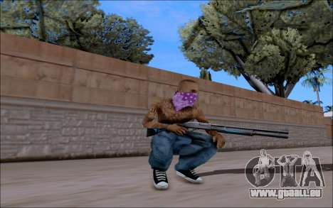 Blueline Gun Pack für GTA San Andreas zweiten Screenshot