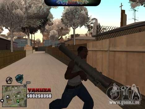 C-HUD Yakuza für GTA San Andreas dritten Screenshot