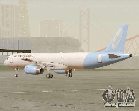 Airbus A321-200 Vorona Aviation pour GTA San Andreas laissé vue