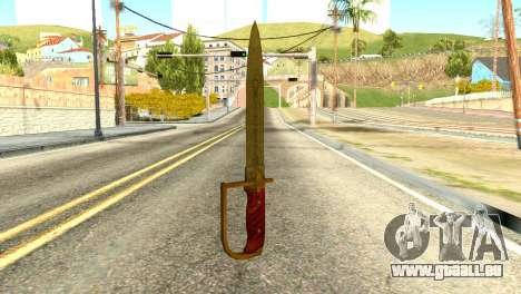 Antique Cavalry Dagger from GTA 5 für GTA San Andreas