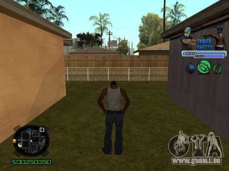 C-HUD для Ghetto pour GTA San Andreas