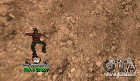C-HUD Groove für GTA San Andreas dritten Screenshot