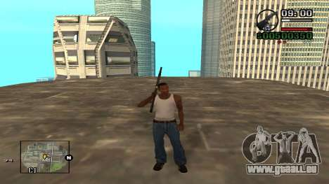 C-HUD By.Kidd pour GTA San Andreas troisième écran