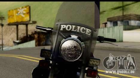 Police Bike GTA 5 pour GTA San Andreas vue arrière