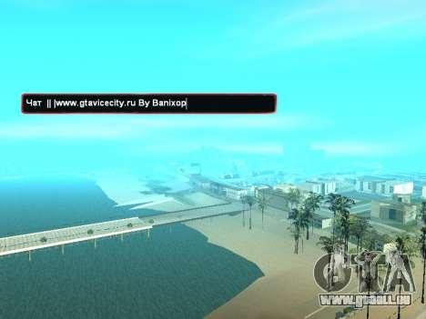 SampGUI atmosphère de Noël pour GTA San Andreas deuxième écran
