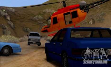 Bandit Maverick pour GTA San Andreas laissé vue