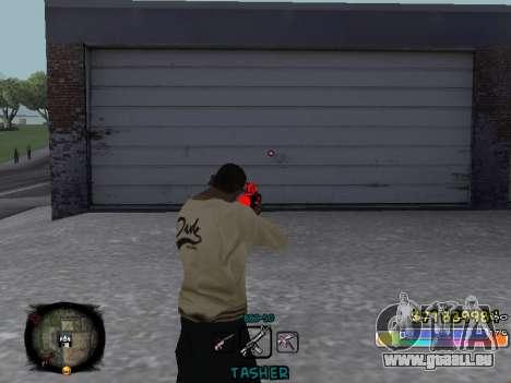 C-HUD Color Tasher für GTA San Andreas dritten Screenshot