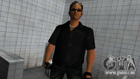 Tommy In Black für GTA Vice City zweiten Screenshot