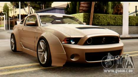 Ford Shelby GT500 RocketBunny pour GTA San Andreas