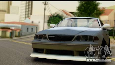 Toyota Mark 2 Sport pour GTA San Andreas vue arrière