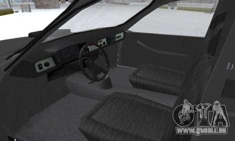 Dacia 1305 Papuc Pick-Up Drop Side 1.9D pour GTA San Andreas vue de dessus