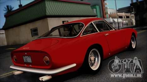 Ferrari 250 GT Berlinetta Lusso 1963 [ImVehFt] für GTA San Andreas zurück linke Ansicht
