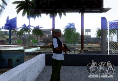 Akmn avec des SEINS pour GTA San Andreas deuxième écran