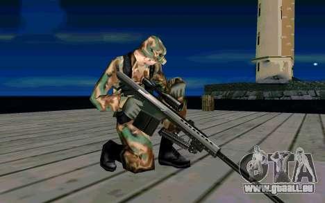 Barret M107 für GTA San Andreas her Screenshot