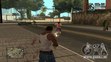 C-HUD By.Kidd pour GTA San Andreas deuxième écran
