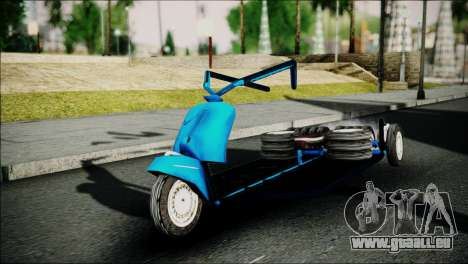 Vespa Gembel Extreme pour GTA San Andreas