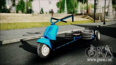 Vespa Gembel Extreme pour GTA San Andreas