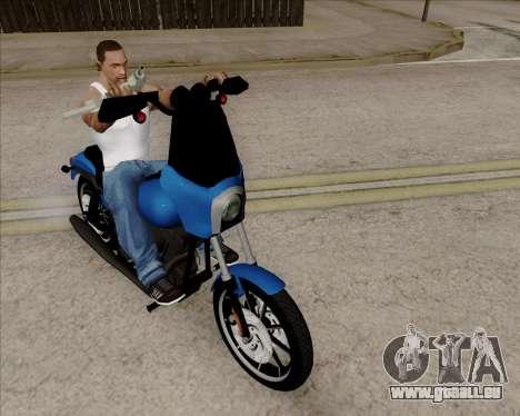 Harley-Davidson FXD Super Glide T-Sport 1999 pour GTA San Andreas laissé vue