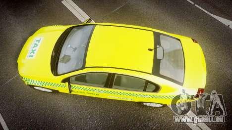 Holden Commodore Omega Series II Taxi v3.0 für GTA 4 rechte Ansicht
