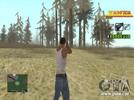 С-HUD von D. Gurt für GTA San Andreas zweiten Screenshot
