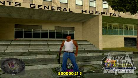 C-HUD Barcelona pour GTA San Andreas