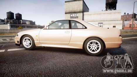 Nissan Skyline R33 GT-R V.spec 1995 für GTA 4 linke Ansicht