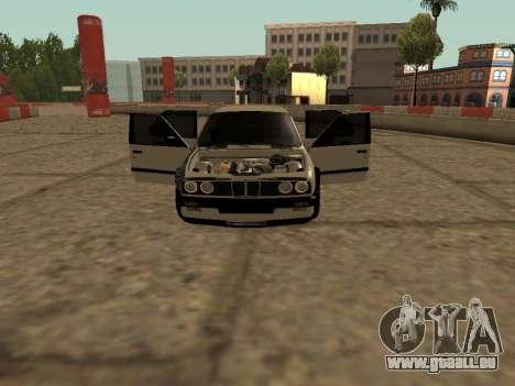 BMW M3 E30 Drift pour GTA San Andreas laissé vue