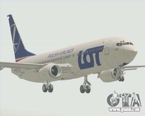 Boeing 737-800 LOT Polish Airlines für GTA San Andreas