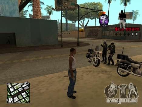 C-HUD by Alesha für GTA San Andreas zweiten Screenshot