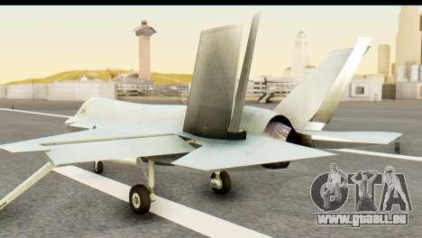 F-35B Lightning II Hatsune Miku Version für GTA San Andreas linke Ansicht