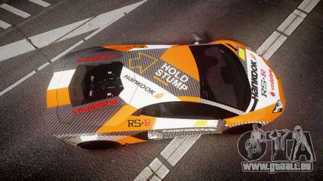 Lamborghini Aventador 2012 [EPM] Hankook Orange pour GTA 4 est un droit
