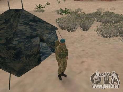 Grenadier des troupes aéroportées de la Fédérati pour GTA San Andreas septième écran