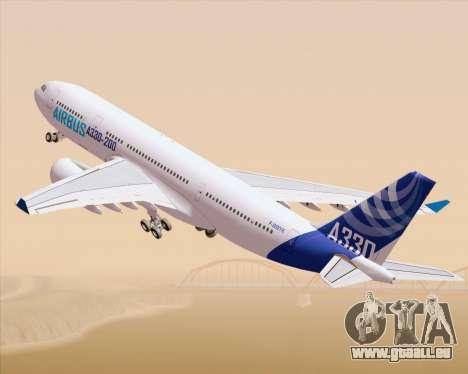 Airbus A330-200 Airbus S A S Livery pour GTA San Andreas laissé vue