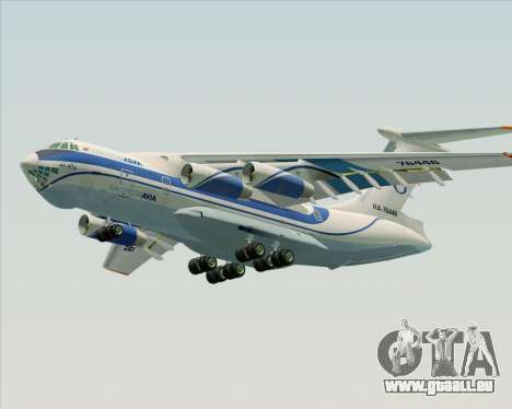 IL-76TD Gazprom Avia für GTA San Andreas Motor
