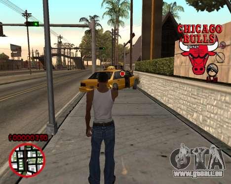 C-HUD by Mefisto pour GTA San Andreas deuxième écran