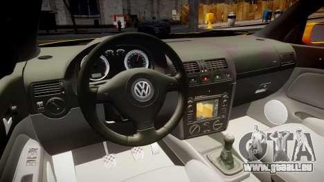 Volkswagen Golf Mk4 Variant für GTA 4 Rückansicht