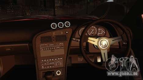 Toyota Celica GT-Four für GTA San Andreas Innenansicht