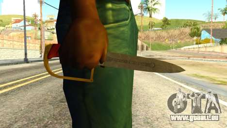 Antique Cavalry Dagger from GTA 5 für GTA San Andreas dritten Screenshot