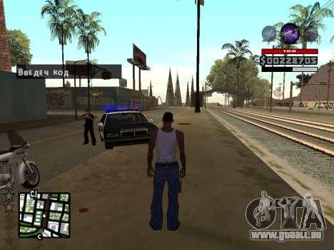 C-HUD by Granto pour GTA San Andreas troisième écran
