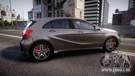 Mersedes-Benz A45 AMG PJs5 für GTA 4 linke Ansicht