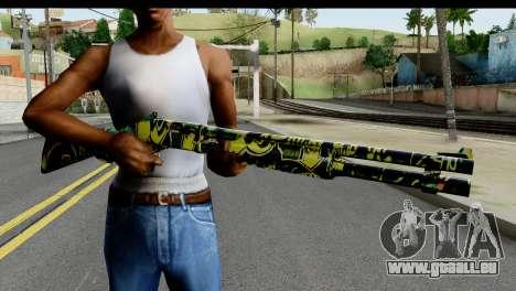 Grafiti Shotgun pour GTA San Andreas troisième écran