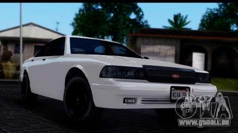 Civillian Vapid Stanier II from GTA 4 IVF pour GTA San Andreas
