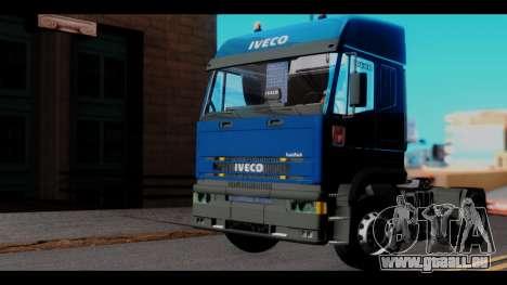 Iveco Eurotech (No Snow) pour GTA San Andreas vue de droite